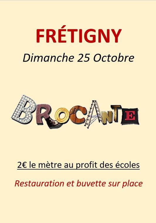 25.10 brocante frétigny