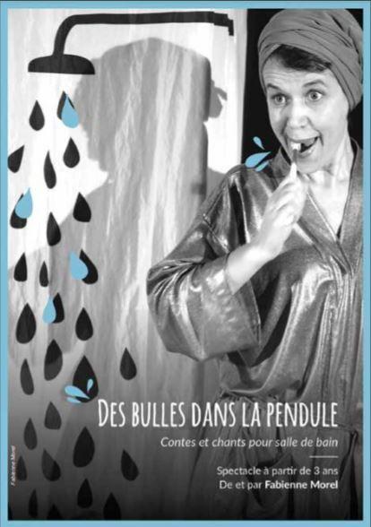Des bulles dans la pendule ©Fabienne Morel