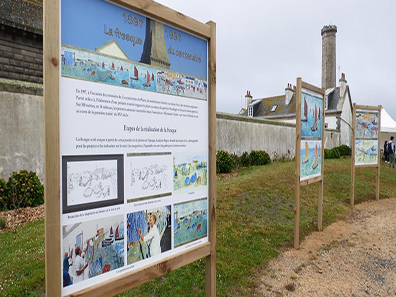Expo hommage à la fresque de Saint-Pierre