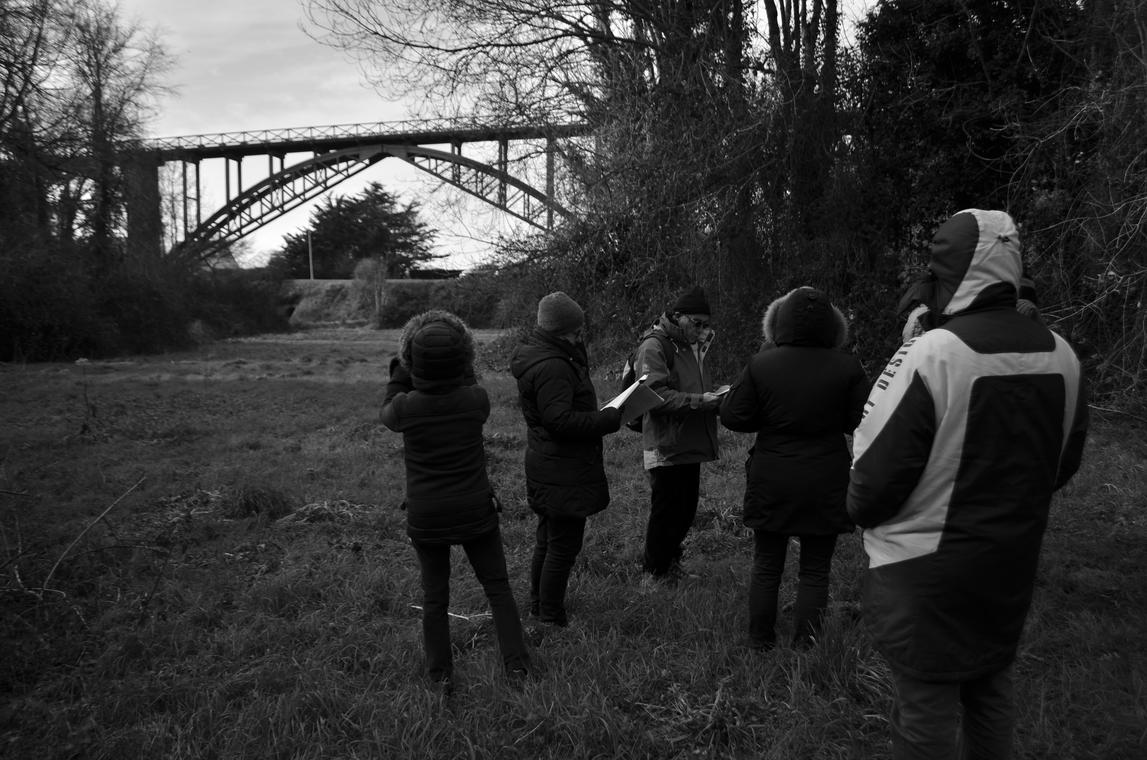 Visite avec l'Association des Amis du Viaduc de Caroual