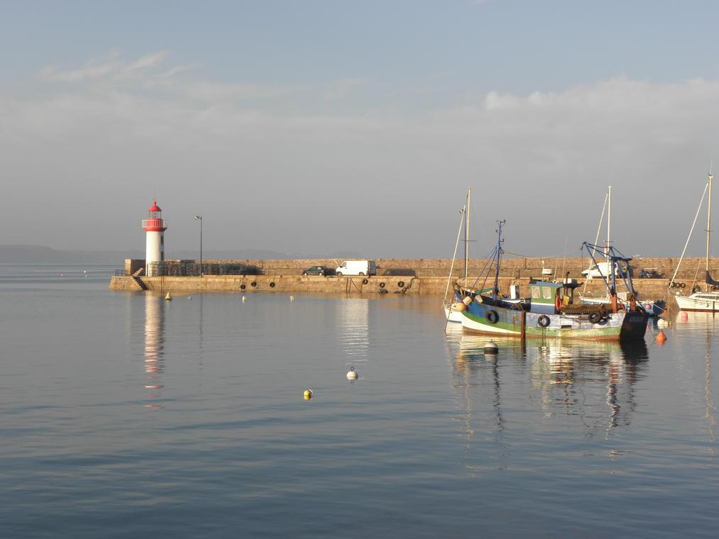Sur le port d'Erquy ...