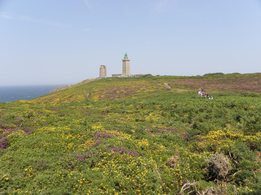 Vue sur les phares du Cap Fréhel