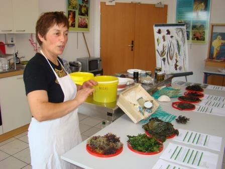 Atelier de cuisine aux algues par Scarlette Le Corre - Guilvinec - Pays Bigouden