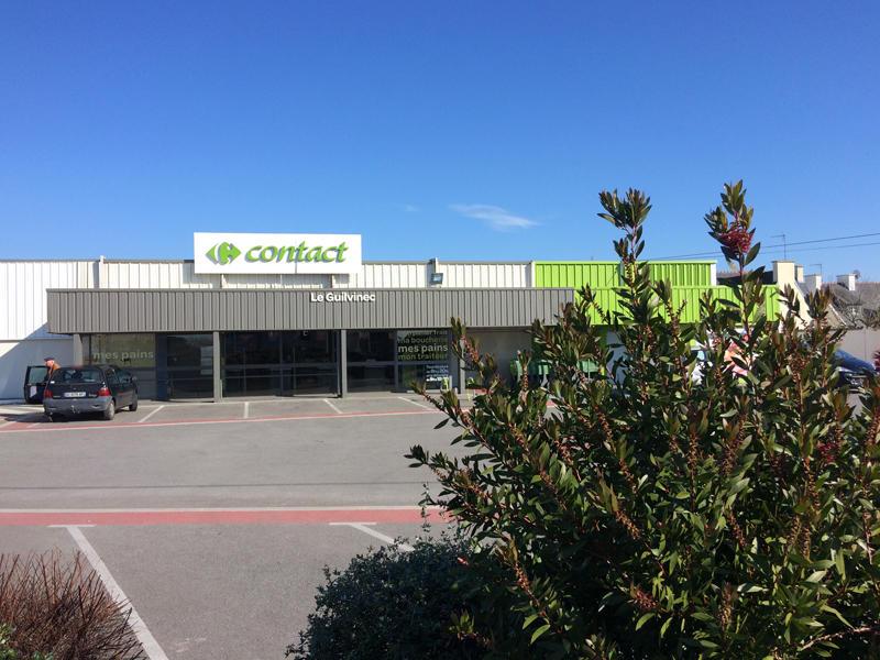 Carrefour Contact - Guilvinec - Pays Bigouden