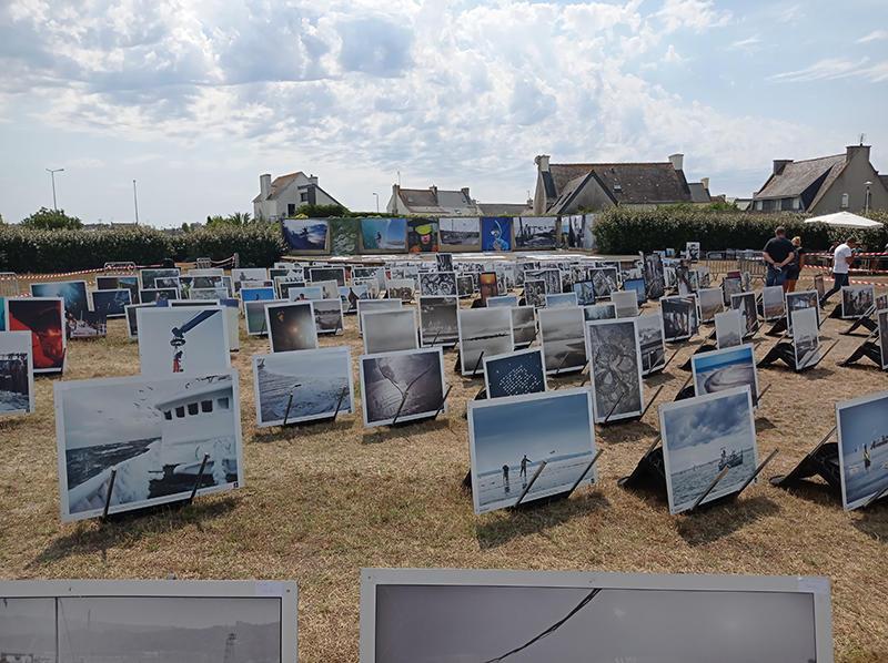 Vente photos et bâches Festival Photo - Guilvinec - Pays Bigouden