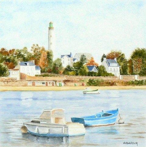 Expo Bernard Abafour - Ile-Tudy - Pays bigouden 1