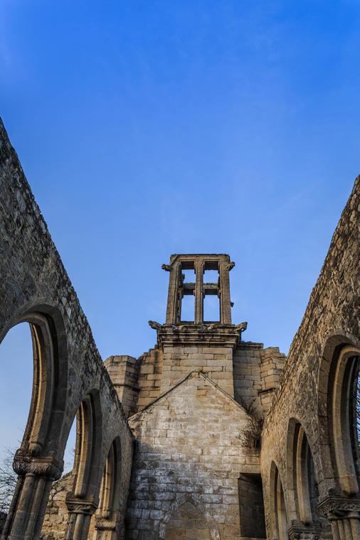 Pont l'Abbé - église de Lambour - patrimoine - janvier 2020