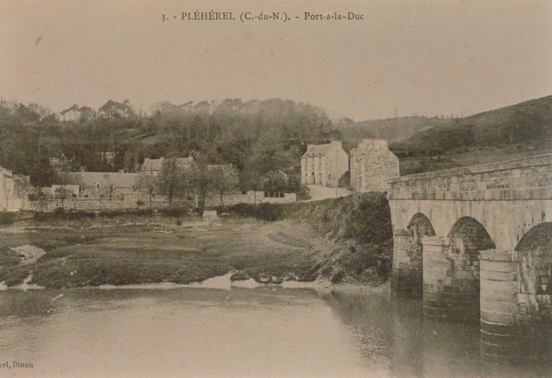 Port à la Duc, à l'époque ...