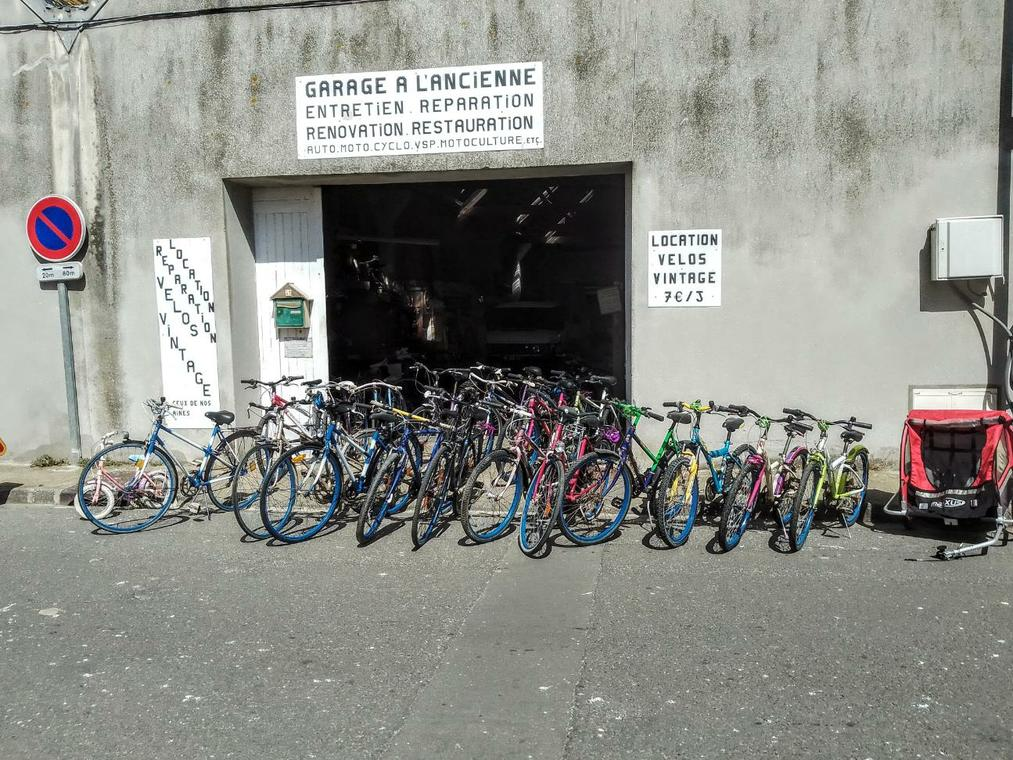 Location de Vélos - Garage à l'ancienne - Penmarc'h - Pays Bigouden