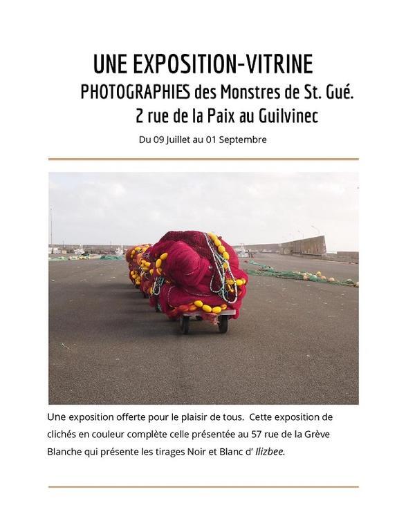 Expo Vitrine - Guilvinec - Pays Bigouden