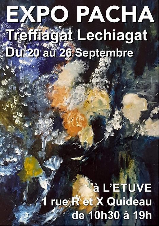 TREFFIAGAT - Expo Peinture Pacaha - Annie Hardy