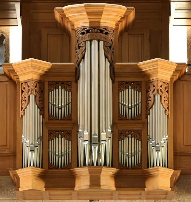 Les tourelles de l'orgue de Loctudy
