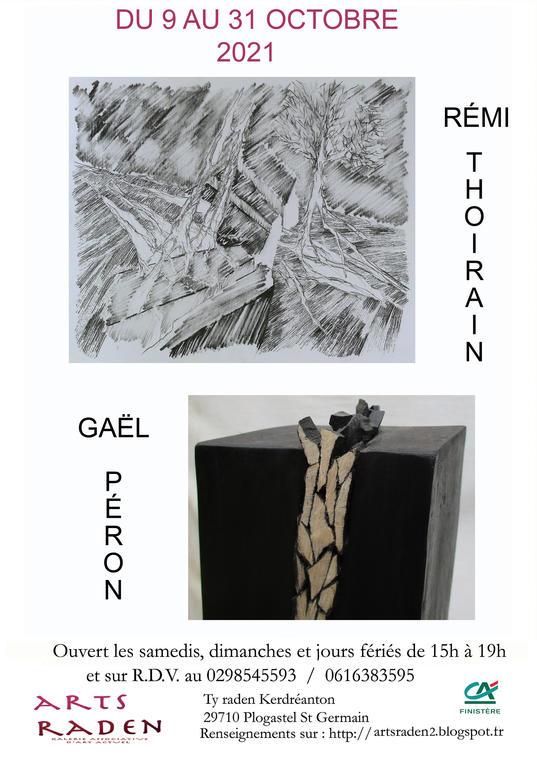 Expo galerie Arts Raden - Plogastel Saint Germain - Pays Bigouden