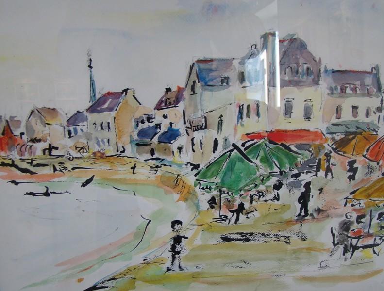 expo peinture - Claude Modeste - ile-tudy - pays bigouden