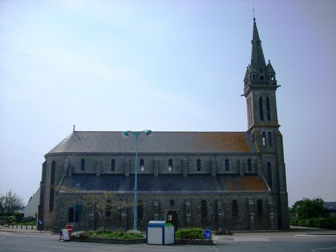 Eglise saint riagat Lechiaggat Pays Bigouden