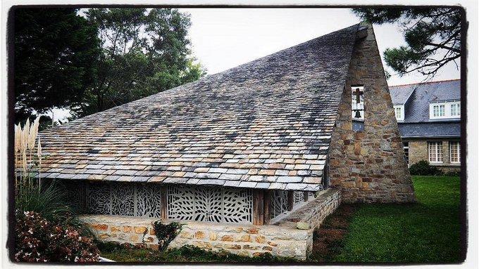 Chapelle privée - La porte ouverte - Loctudy Pays Bigouden Sud