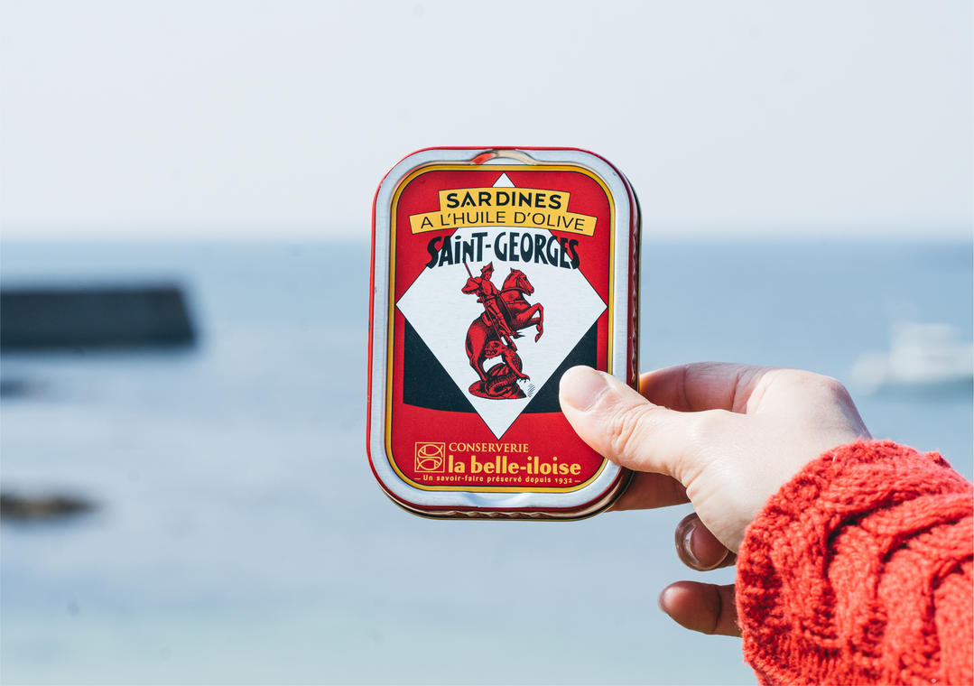 Sardines Saint-Georges - la belle-iloise