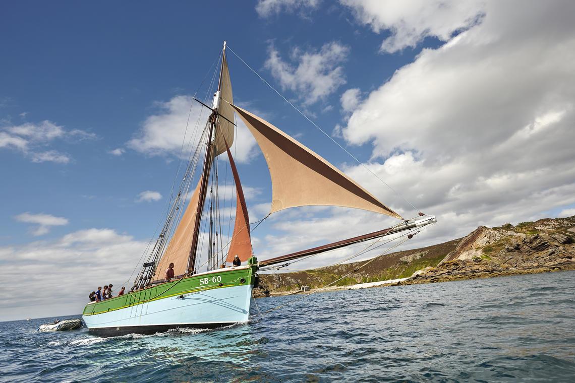 Balade en mer au Cap d'Erquy