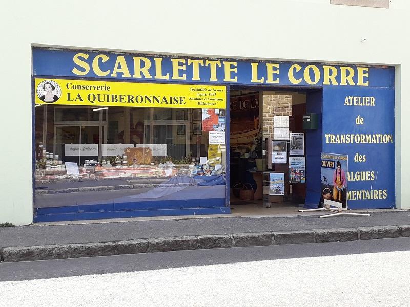 Portes ouvertes - Boutique Mer et Saveurs - Scarlette Le Corre - Guilvinec