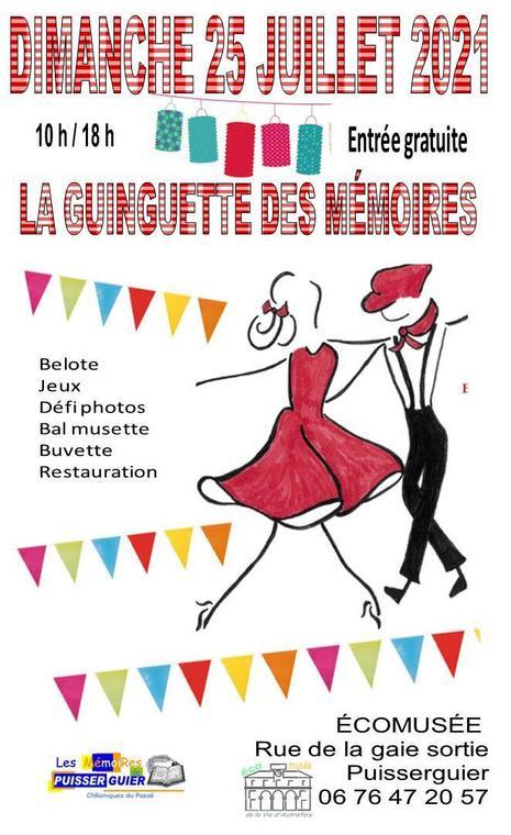 Afiche Guinguette V1