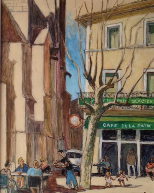 Café de la Paix Capestang