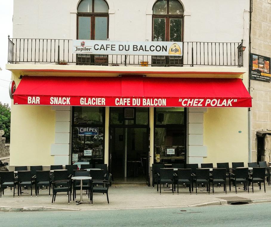 Café du balcon Saint-Chinian