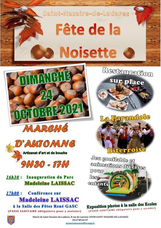 Fête de la noisette - St Nazaire- Avant-Monts - 2021