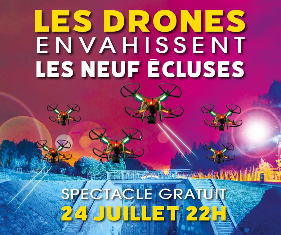 Spectacle de drônes