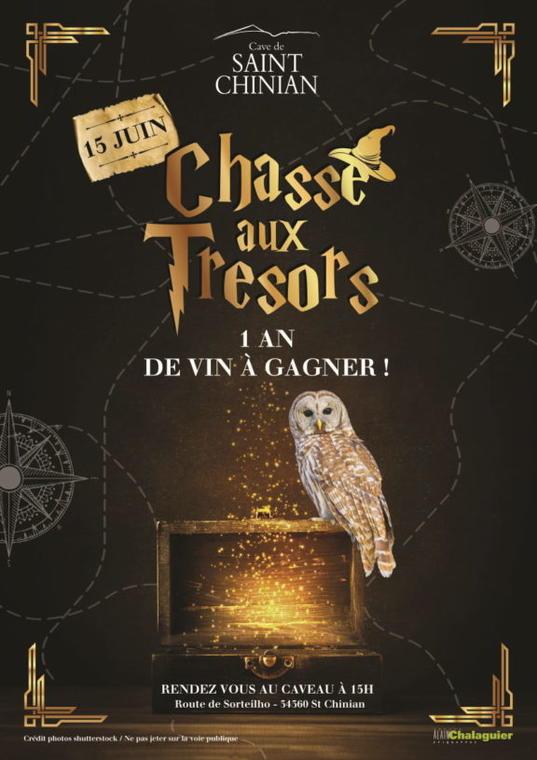 Visuel chasse-au-tresor-cave-de-saint-chinian