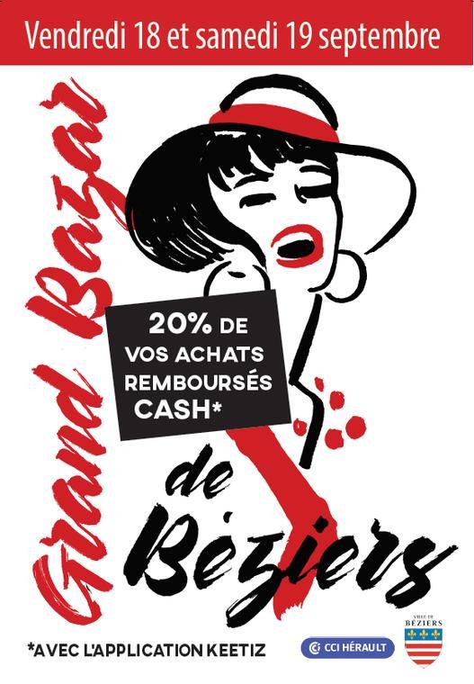 2020 - 09 -18 et 19 Le Grand Bazar de Béziers