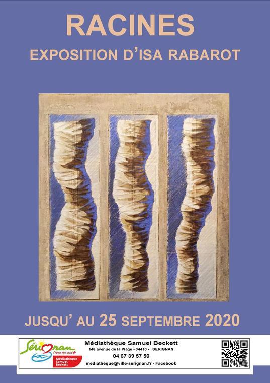 2020-07-01 au 25 septembre médiathèque sérignan
