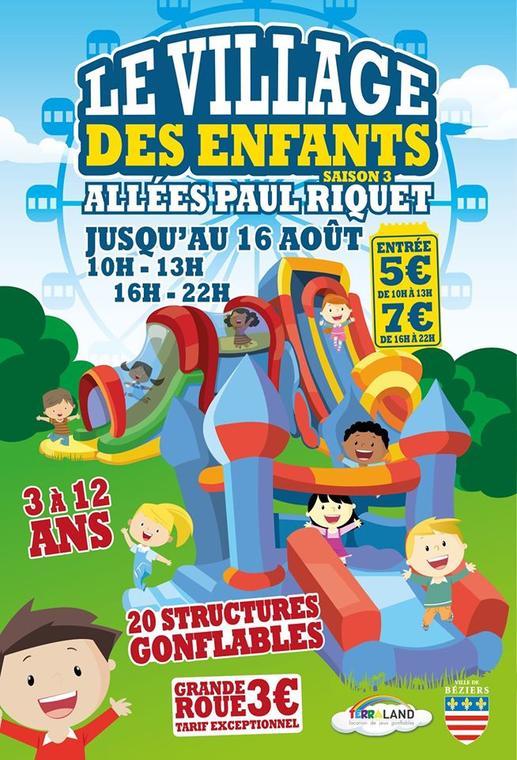2020-08-16 Village des enfants Béziers