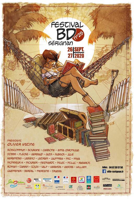 2020-09-26 et 27 affiche définitive Festival BD 2020