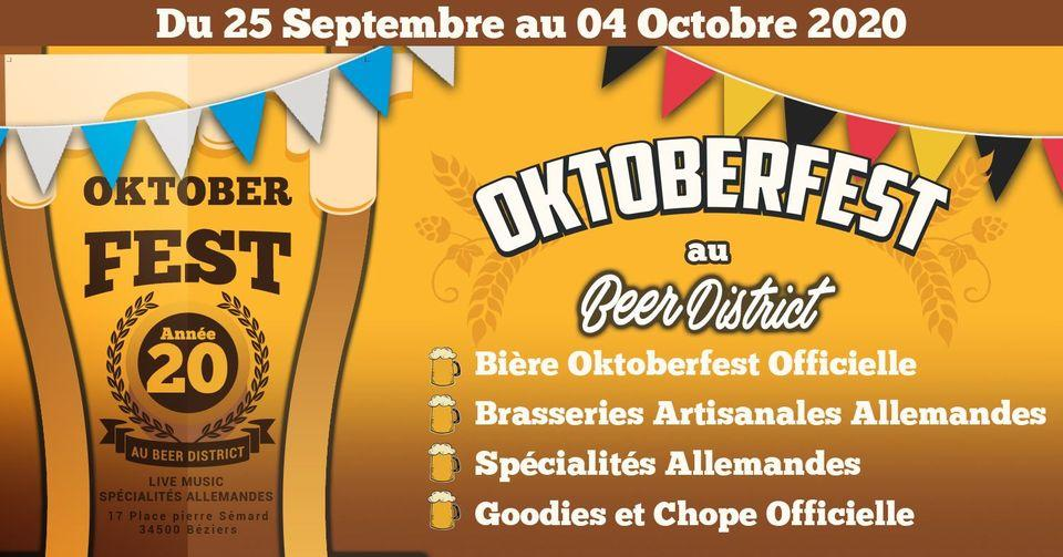 2020-10-04 Oktoberfest Beer District Beziers