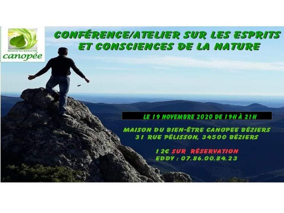 2020-11-19 Conference Esprits et consciences de la nature MBEC Béziers