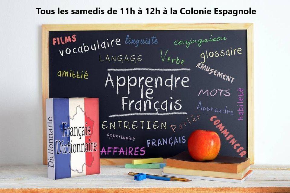 2020 Cours de Français à la Colonie Espagnole