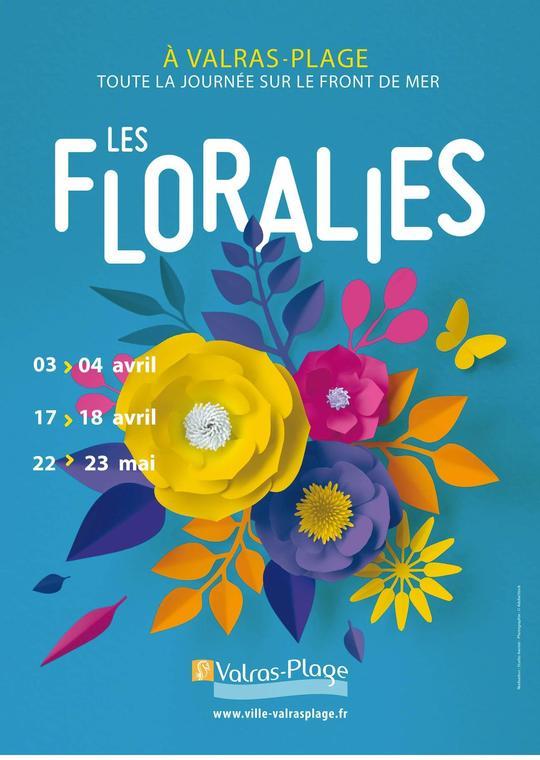 2021- d'avril à mai floralies Valras