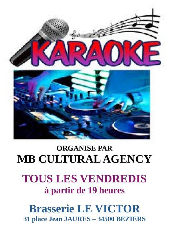 2021- tous les vendredis karaoke le victor