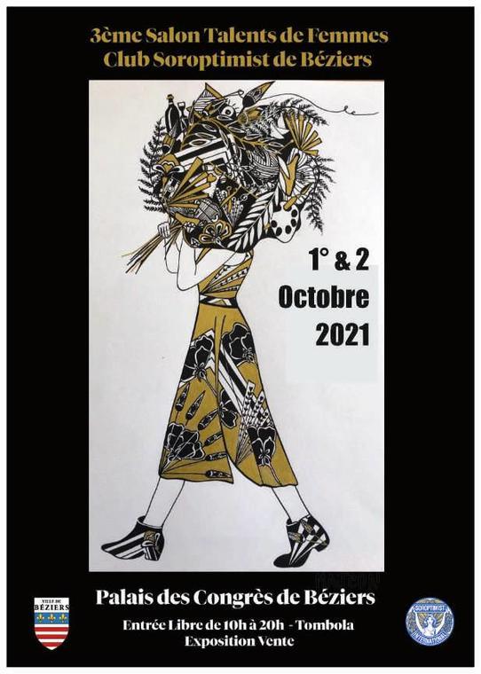 2021-02-10 Talent de Femme Palais des Congrés Beziers