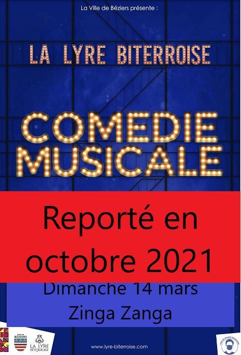 2021-03-14 La Lyre Biterroise Comédie Musicale