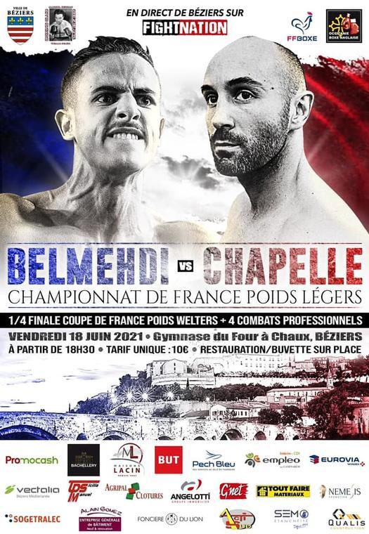 2021-06-18 Championnat de boxe Béziers