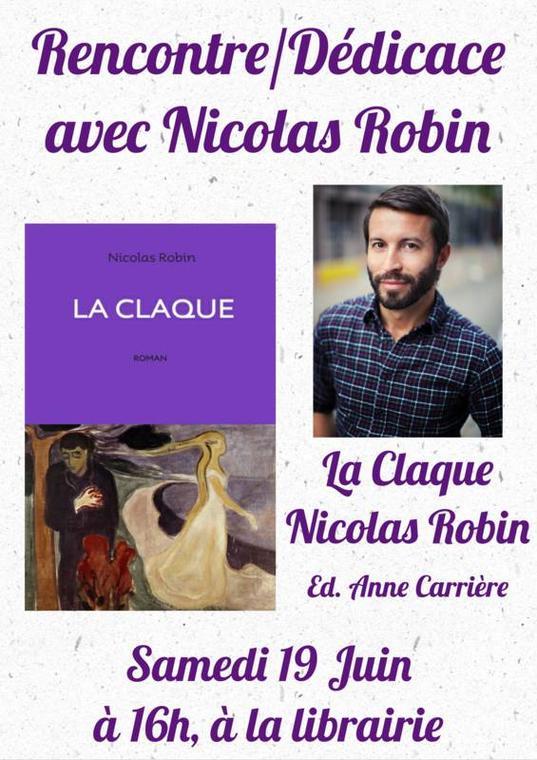 Dedicace Nicolas Robin Clareton Béziers