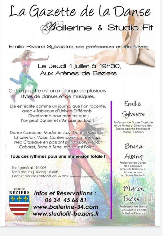 2021-07-01 Gala danse Studio Fit aarènes de Béziers