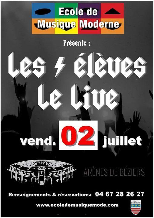 2021-07-02 Gala ecole de musique moderne Arènes de Béziers