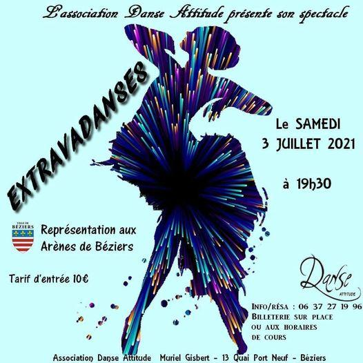2021-07-03 Extravadanses Béziers Arènes