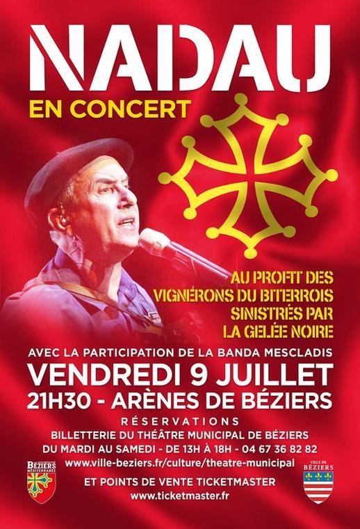 2021-07-09 Nadau concert arènes Béziers