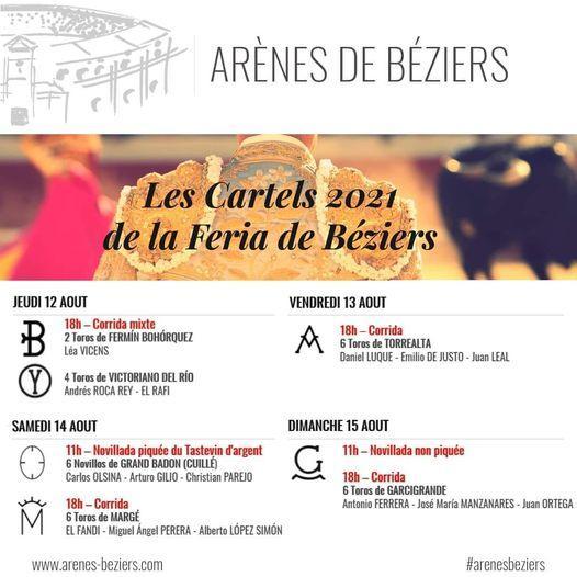 2021-08-15 Cartels Féria de Béziers