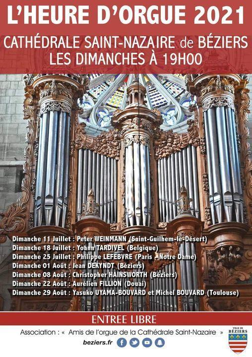 2021-08-29 L'heure d'Orgue Béziers
