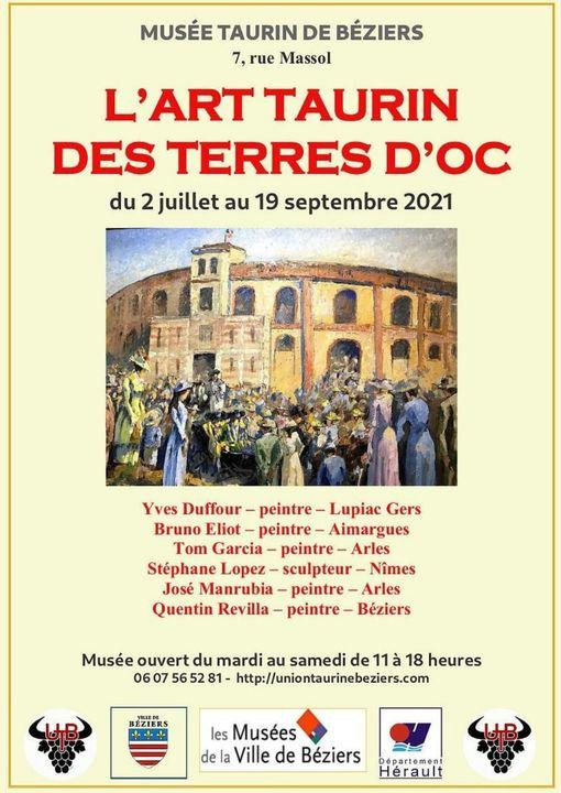 2021-09-19 Expo Musée taurin Béziers