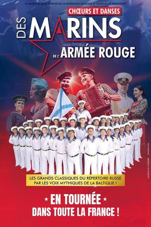 Choeurs et danses des marins de l'Armée Rouge ZZ Beziers